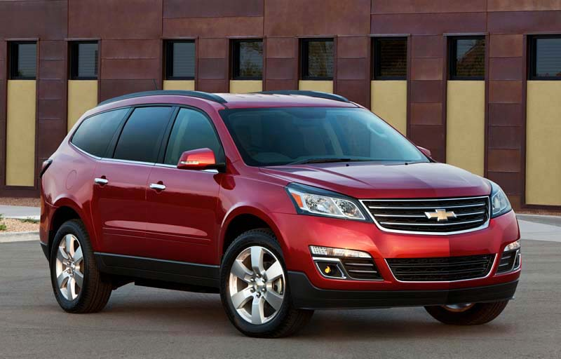 chevrolet traverse 2017 estilo comodidad y seguridad lista de carros. Black Bedroom Furniture Sets. Home Design Ideas