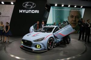 Auto Show de París 2016: Hyundai RN30, un Concept muy agresivo  y radical.