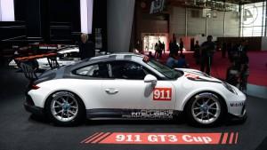 Auto Show de París 2016: Porsche 911 GT3 Cup, ahora más grande y potente