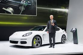 Auto Show de París 2016: Porsche Panamera plug-in Hybrid