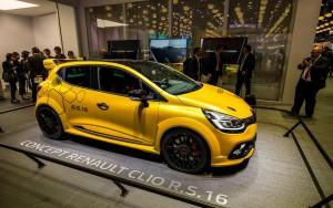 Auto Show de París 2016: Renault Clio RS16 Concept, para la pista o la ciudad.