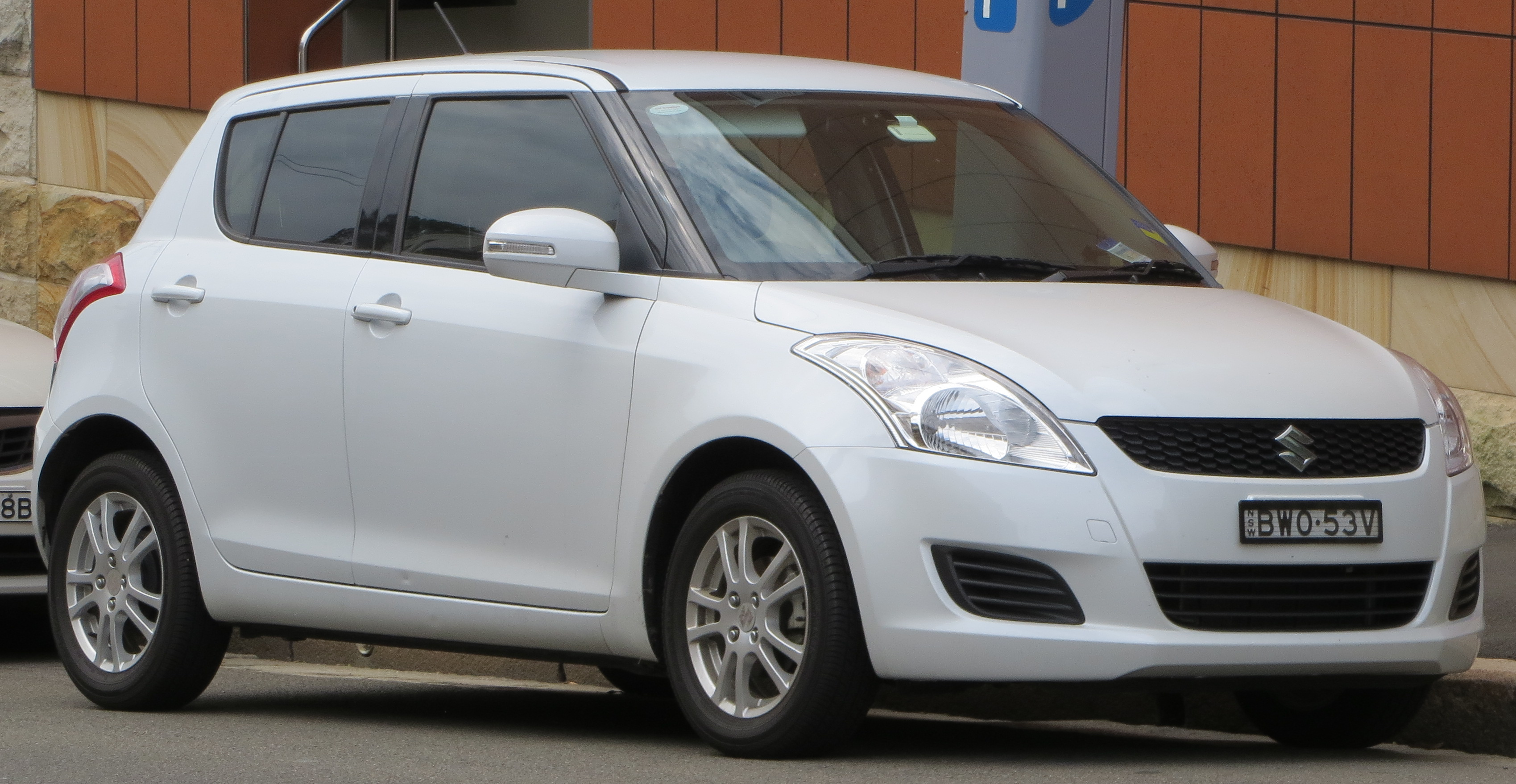 Suzuki Swift Sport Black Alloys