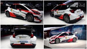 Auto Show de París 2016: Toyota Yaris WRC 2017