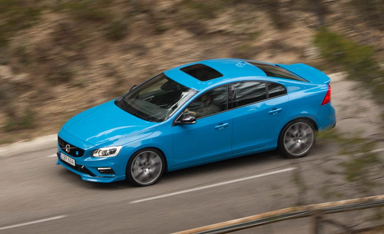 volvo s60 polestar 2017 potencia y alto rendimiento lista de carros. Black Bedroom Furniture Sets. Home Design Ideas