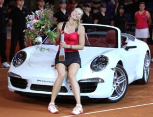 Los autos de María Sharapova