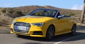 Audi A3 Cabrio 2017: cambios importantes y mayor poder.