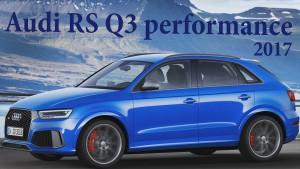 Audi RS Q3 Performance 2017: Ahora con 367CV.
