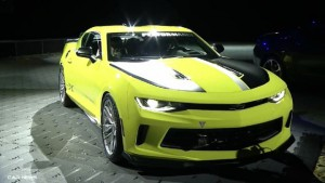 SEMA Show 2016: Chevrolet Camaro Turbo AutoX Concept, poderoso y llamativo.