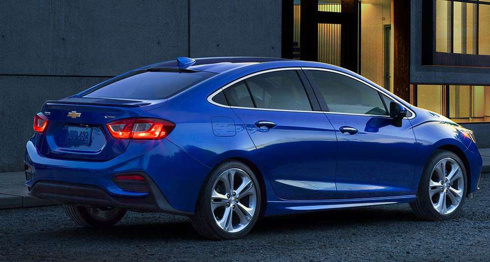 Chevy Cruze 14 Turbo 2017 Chevrolet Cruze Sedán: Prices U.S.A (•L:$16,975) (•LS MT:$ ...