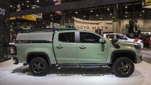Chevrolet Colorado  Z71 Hurley, especialmente para surfistas