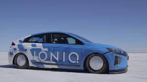 El Hyundai Ioniq es el híbrido más rápido del mundo