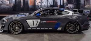 SEMA Show 2016: Ford Mustang GT4, listo para las competencias.