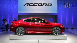 Honda Accord Coupé 2017: diseño y tecnología.