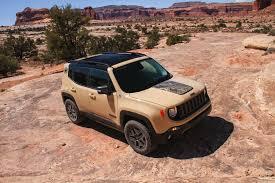 Auto Show de los Ángeles 2016: Jeep Renegade Deserthawk 2017,  un auto inspirado en el desierto