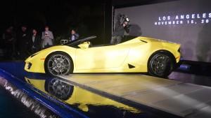 Auto Show de los Ángeles 2016: Lamborghini Huracán LP 580-2 Spyder, felicidad y exclusividad a cielo abierto.