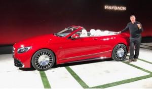 Auto Show de los Ángeles 2016: Mercedes-Maybach S650 Cabriolet, súper lujo y súper exclusividad.