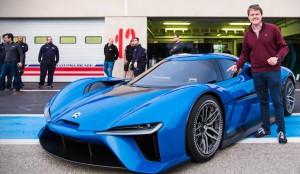 NIO EP9, el auto eléctrico más rápido del mundo