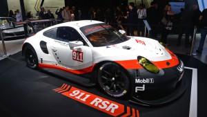 Auto Show de los Ángeles 2016: Porsche 911 RSR, ahora con motor central.