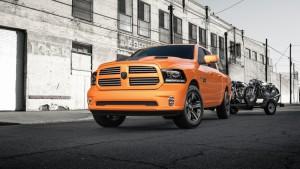 Auto Show de los Ángeles 2016: RAM 1500 Ingnition Orange Sport 2017, llamativa y poderosa.