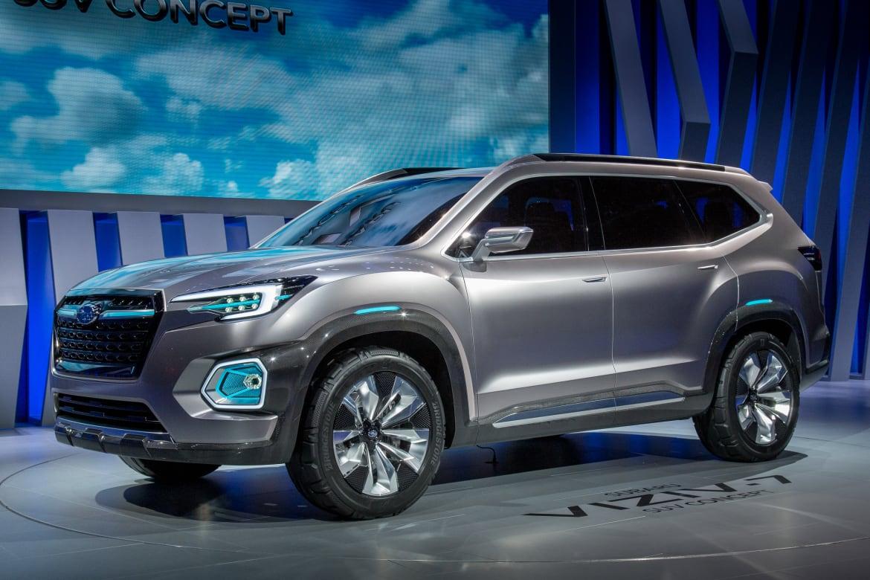 Auto Show de los Ángeles 2016: Subaru Viziv-7 SUV Concept ...