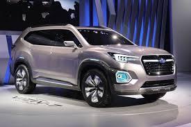 Auto Show de los Ángeles 2016: Subaru Viziv-7 SUV Concept, una gigantesca SUV .