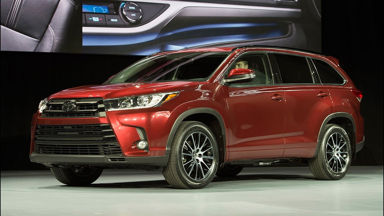toyota highlander hybrid 2017 eficiencia y belleza lista de carros. Black Bedroom Furniture Sets. Home Design Ideas