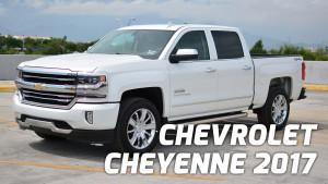 Chevrolet Cheyenne 2017: poderosa, lujosa y hermosa.
