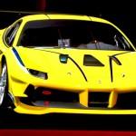 Ferrari 488 Challenge: El Ferrari Challenge celebra su 25 aniversario en 2017. Desde 1992, se han llevado a cabo más de 1,000 carreras, con una participación de más de 1,000 pilotos aficionados, según Ferrari.  este evento se ha convertido en una gran escuela para pilotos que quieren incursionar en las carreras de GT y prototipos. El fabricante asegura que incluso algunos de estos pilotos ha llegado a participar en carreras de la IMSA y de FIA World Endurance Championship, e incluso en las 24 Horas de Le Mans.