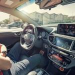 Imágenes del Hyundai Ioniq Autonomous Concept.