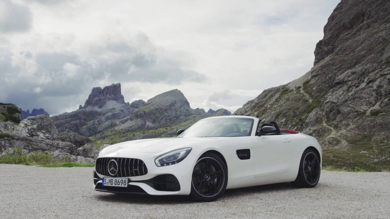 mercedes amg gt roadster 2017 el descapotable m s