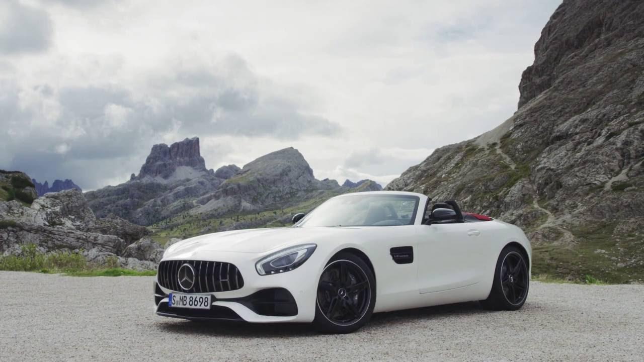 Mercedes amg gt roadster 2017 el descapotable m s for Mercedes benz deportivo