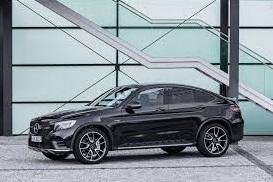 Mercedes Benz  AMG GLC43 4Matic Coupé 2017: deportividad y elegancia.