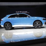 Audi Q8 Concept: De serie compartirá plataforma con las evoluciones de los Audi Q7, Volkswagen Touareg y Porsche Cayenne. Como buen Audi y buen alemán e Q8 ofrece lujo al por mayor. Su interior es sobrio y sencillamente acogedor.