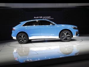 Salón del Automóvil de Detroit 2017: Audi Q8 Concept, musculosos, poderoso y ecológico