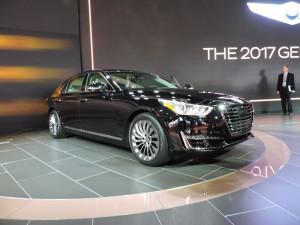 Genesis G90 2017: potente, cómodo, lujoso y muy elegante
