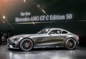 Mercedes-AMG GT C Edition 50, exclusividad para celebrar medio siglo de vida