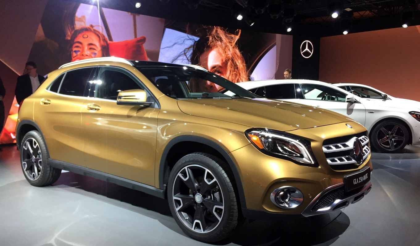 Auto show de detroit 2017 mercedes benz gla 2017 for Mercedes benz 2017 precio
