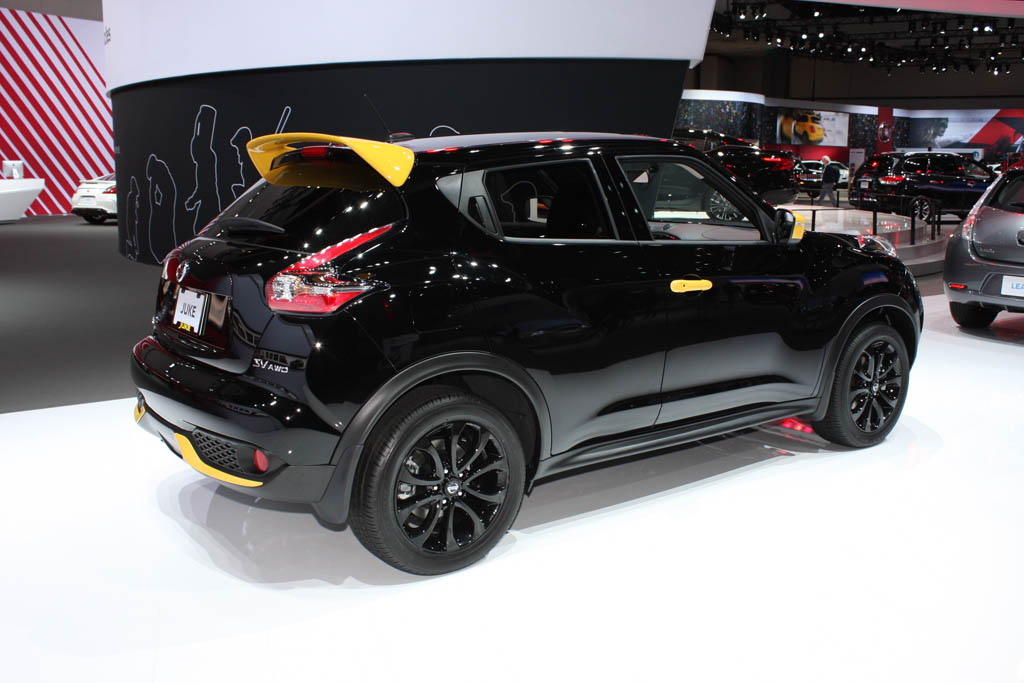 nissan juke nismo rs 2017 ahora m s equipado y deportivo lista de carros. Black Bedroom Furniture Sets. Home Design Ideas