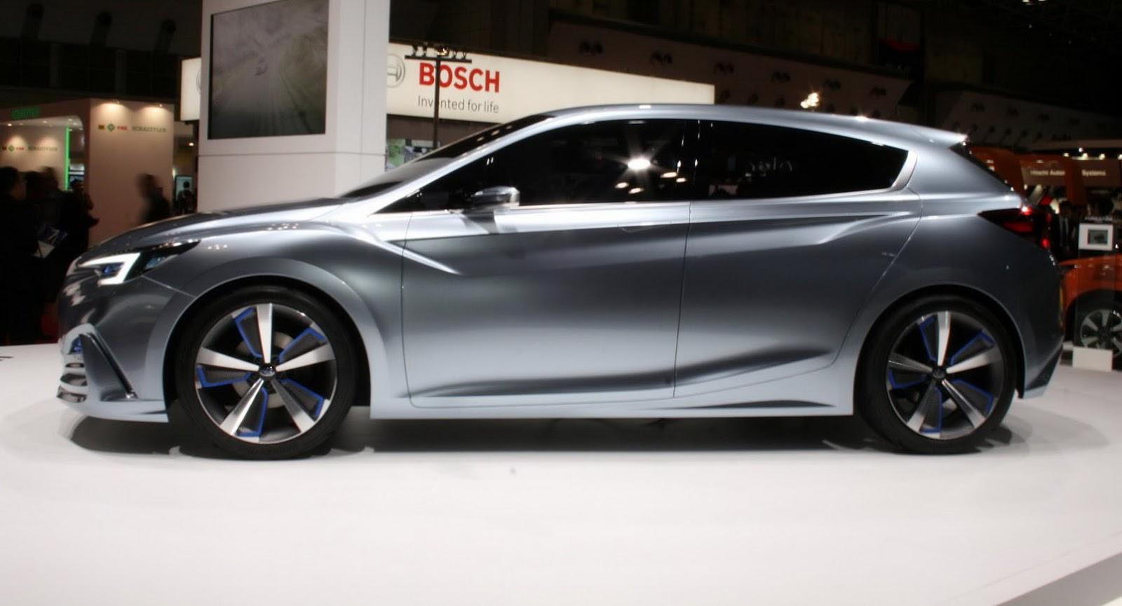 Subaru Impreza Hatchback 2017 Estabilidad Agilidad Y