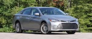 Toyota Avalon 2017: elegante, lujoso y confortable.
