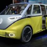 Volkswagen I.D. Buzz Concept: Es un monovolumen eléctrico que hereda el diseño del Microbus o Bulli con herencia del hermoso Kombi, pero que ahora ofrece mayor espacio (para ocho ocupantes) como versatilidad, combinado con una propulsión eléctrica única. Su autonomía será de 600 km.