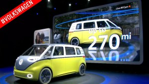 Salón del Automóvil de Detroit 2017: Volkswagen I.D. Buzz Concept, recordando a la Kombi
