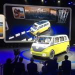 Imágenes del  Volkswagen I.D. Buzz Concept.