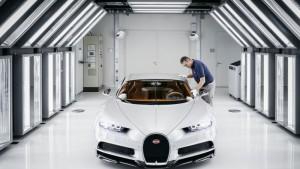 Así se produce un Bugatti Chiron de 2.4 millones de euros.