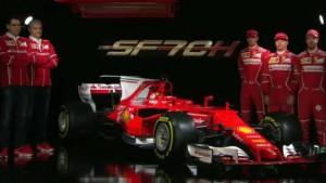 Ferrari presenta SF70H, su nuevo Monoplaza de F1.