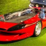 Ferrari Testa D'Oro Colani: Ferrari siempre nos ha dejado ver su obsesión por ser el mejor fabricante de autos del mundo. Sus modelos son potentes, espectaculares, veloces, muy exclusivos y ahora hasta futuristas. prueba de ello es el Testa D'Oro Colani, un deportivo único en el mundo por su estilo y altísimo precios, el cual luce un diseño muy al estilo de una nave espacial. Este exótico auto dará mucho de que hablar. A unos les gustará y a otros no, así, sin puntos medios. Su precio es de 1.7 millones de dólares.
