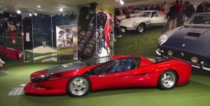 Ferrari Testa D'Oro Colani, un deportivo único en el mundo