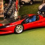 Imágenes del Ferrari Testa D'Oro Colani.