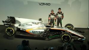 VJM10, el Monoplaza de Force India para la Fórmula 1 2017.