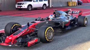 Haas mostró el VF17, su Monoplaza para la Fórmula Uno 2017.